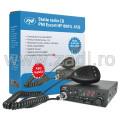 Kit Statie radio CB PNI Escort HP 8001 ASQ + Casti HS81 + Antena CB PNI ML70 cu magnet