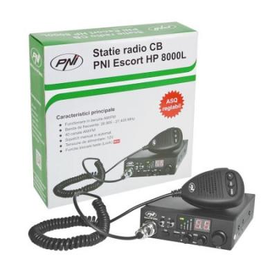Statie radio CB PNI Escort HP 8000L cu ASQ reglabil