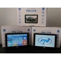 Sistem de navigatie GPS PNI L510 ecran 5 inch, 800 MHz, 256M DDR3, 8GB memorie interna, FM transmitter - HARTI FULL EUROPA - auto / camion