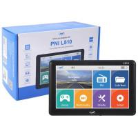 Sistem de navigatie GPS PNI L810 ecran 7 inch, 800 MHz, 256M DDR, 8GB memorie interna, FM transmitter