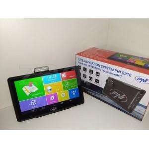 Sistem de navigatie GPS PNI S916 ecran 7 inch cu Android 6.0 - harti auto, camion - full europa - garantie 2 ani